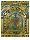 Circumcision of Jesus, Enamel, Verdun Altar, Begun 1181 Giclee Print by Nicholas of Verdun 