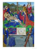 Les Heures D'Etienne Chavalier: Lamentation Giclee Print by Jean Fouquet