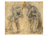 Study for an Annunciation Giclee Print by Lorenzo di Credi