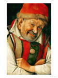Gonella, the Court-Dwarf of the Dukes of Ferrara Giclee Print by Jan van Eyck