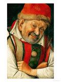 Gonella, the Court-Dwarf of the Dukes of Ferrara Giclee Print by  Jan van Eyck