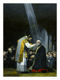 Last Communion of San Jose De Calasanz Giclee Print by Francisco de Goya