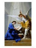 The Annunciation Giclée-tryk af Francisco de Goya