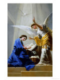The Annunciation (panel) Lámina giclée por Francisco de Goya
