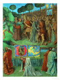 Les Heures D'Etienne Chavalier: The Seizure of Christ Giclee Print by Jean Fouquet