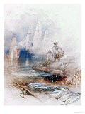 Mackerel on the Beach, circa 1830-35 Giclee Print by William Turner
