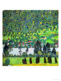 Waldabhang in Unterach Am Attersee, 1917, Slope in a Forest on Atterse-Lake Giclee-vedos tekijänä Gustav Klimt