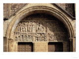 The Last Judgement, from the Tympanon Over the Main Entrance, Sainte-Foy, Conques, Aveyron Giclee Print