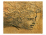 Head of a Young Man, Three Quarters Towards the Right Giclee Print by  Raphael