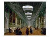 Projet D'Amenagement De La Grande Galerie Du Louvre Giclee Print by Hubert Robert