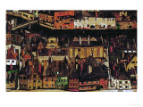 The Small City III, 1913 Giclee Print by Egon Schiele