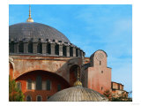Hagia Sophia, Exterior, Detail of Dome, 6th Century Giclee Print