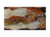 Vesikäärmeet II (Water Serpents II), noin 1907 Giclee-vedos tekijänä Gustav Klimt