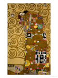 Sketches for the Frieze for the Palais Stoclet in Brussels, Belgium Giclee Print by Gustav Klimt