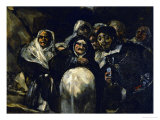 Saint Isidore's Day, Detail Giclee Print by Francisco de Goya
