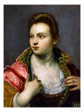 Female Portrait, Prolonged Giclee Print by Jacopo Robusti Tintoretto