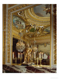 A Corner of the Cabonet Des Jeux, the Card-Room, at Vaux-Le-Vicomte Giclee Print by Charles Le Brun