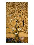 Livets träd Gicléetryck av Gustav Klimt