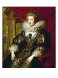 Anne of Austria (1601-1666), Queen of France Giclee Print by Peter Paul Rubens