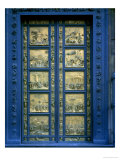 Door of Paradise, East Portal of Florence Baptistry, Bronze (1425) Giclee Print by Lorenzo Ghiberti