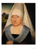 Portrait of an Elderly Woman Giclee Print by Hans Memling