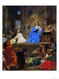 The Descent of the Holy Ghost, 1656-57 Giclee Print by Charles Le Brun