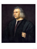 Gian Giacomo Bartolotti Da Parma, Physician Giclee Print by  Titian (Tiziano Vecelli)