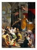 The Miracle of Saint Ignatius Loyola Giclee Print by Peter Paul Rubens
