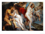 Ixion, King of the Lapiths, Deceived by Juno Giclee Print by Peter Paul Rubens