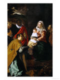 The Adoration of the Magi, 1619 Giclee Print by Diego Velázquez