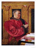Guillaume Jouvenel Des Ursins, Baron De Trainel, Chancellor of France Giclee Print by Jean Fouquet