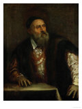 Self-Portrait, 1562 Reproduction procédé giclée par Titian (Tiziano Vecelli)