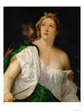 Lucretia and Tarquinius Giclee Print by  Titian (Tiziano Vecelli)
