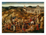 The Crucifixion Giclee Print by  Jan van Eyck