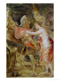 Venus Accompanies Mars to War Giclee Print by Peter Paul Rubens