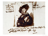 Baldassare Castiglione, Author of Il Cortegiano, the Book About the Perfect Courtier, 1639 Giclee Print by  Rembrandt van Rijn