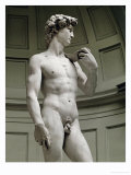 David, 3/4 Profile Giclee Print by Michelangelo Buonarroti 