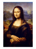 Mona Lisa, 1503-1506 Giclee Print by Leonardo da Vinci 