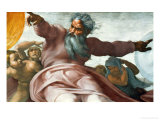 The Sistine Chapel; Ceiling Frescos after Restoration Giclee Print by  Michelangelo Buonarroti