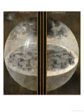 Garden of Delights, Closed Wings: The Creation of the World, Triptich with Shutters Giclee Print by Hieronymus Bosch