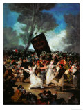 The Burial of the Sardine (A Carnival Procession)1793 Giclee Print by Francisco de Goya