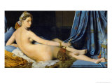The Great Odalisque, 1814 Reproduction proc&#233;d&#233; gicl&#233;e par Jean-Auguste-Dominique Ingres