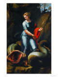 St. Margaret Reproduction proc&#233;d&#233; gicl&#233;e par Raphael 