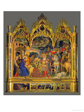 Adoration of the Magi, 1423 Giclée-Druck von  Gentile Da Fabriano