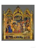 Adoration of the Magi, 1423 Giclée-Druck von  Gentile Da Fabriano