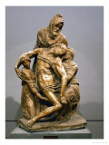 Pieta, circa 1550 Reproduction proc&#233;d&#233; gicl&#233;e par Michelangelo Buonarroti 