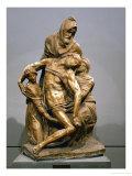 Pieta, circa 1550 Giclée-Druck von  Michelangelo Buonarroti