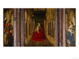 Enthronement of Saint Mary Giclee Print by Jan van Eyck