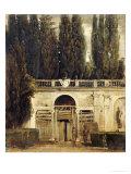 The Medici Gardens in Rome, 1650-1651 Gicléedruk van Diego Velázquez