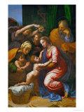 The Holy Family, Called La Grande Sainte Famille De Francois I, 1518 Reproduction procédé giclée par  Raphael